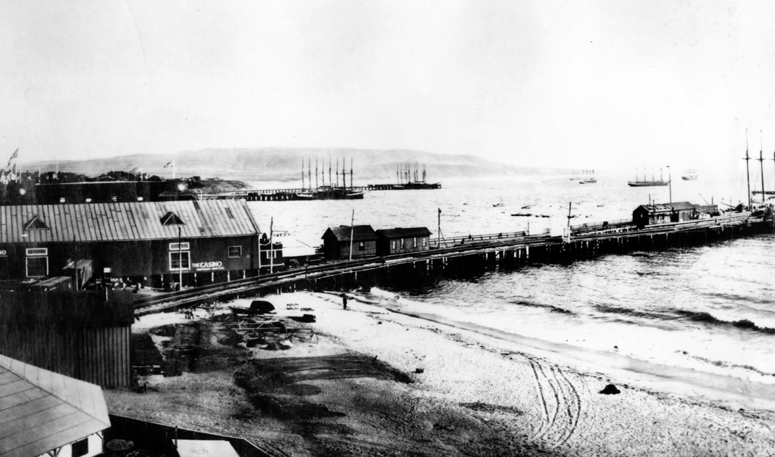 Wharf 1, the first pier built in Redondo in 1889
