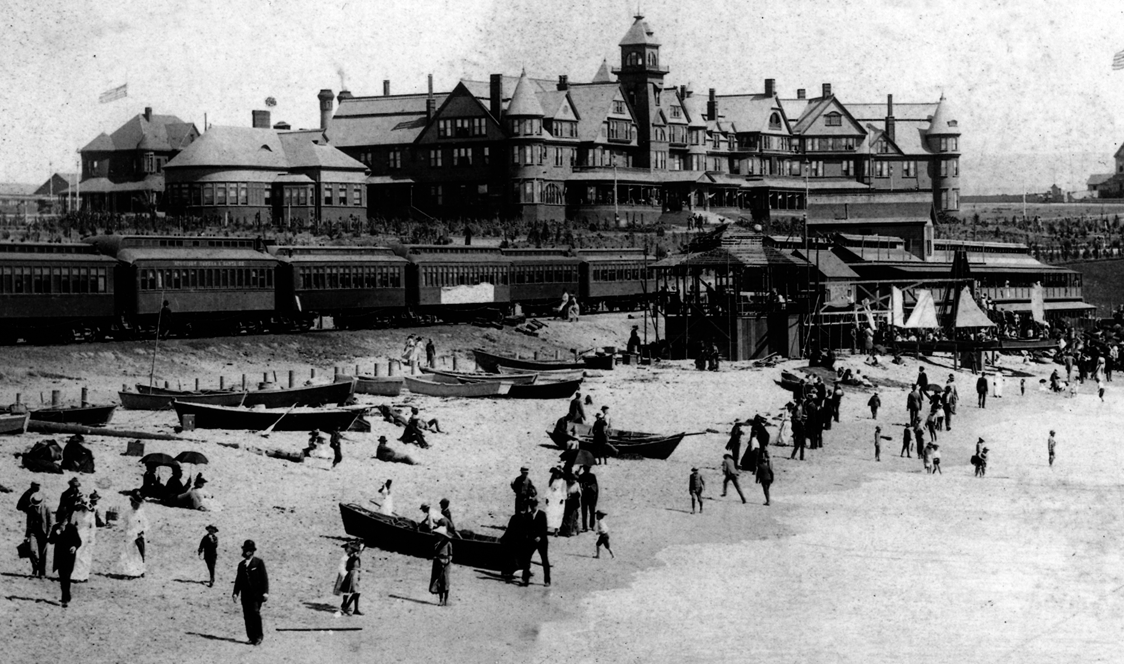 Hotel Redondo opened in 1890. Demolished in 1925.