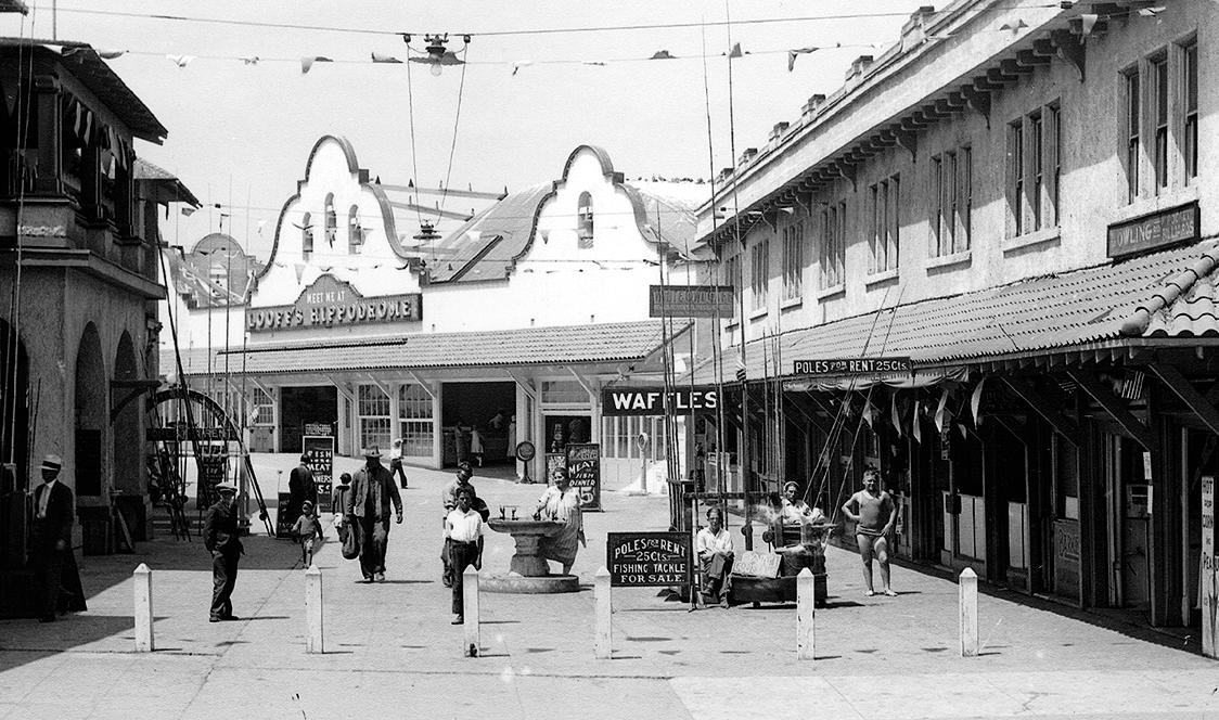 Looff Hippodrome, the landmark carousel building on the Pier built in 1925.